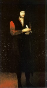 D Joao II retrato sec XVII
